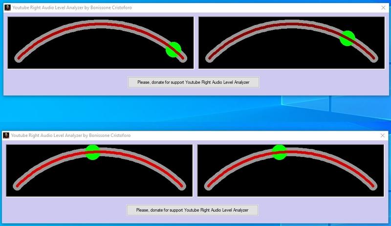 Streaming Right Audio Level Peak Analyze